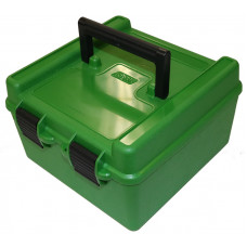 Коробка на 100 патронов ( 9 мм) MTM Ammo Box 100 Round Flip-Top 9mm 380 ACP