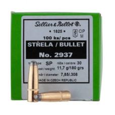 Пули .308 S&B SP 180 gr / 100 шт