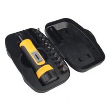 Динамометрическая отвертка c 10 битами Wheeler Engineering FAT Wrench with 10 Bit Set Wheeler Fat Wrench W/10 Bit Set