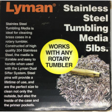 Пины для галтовочного барабана Lyman Rotary Case Stainless Steel Media 5lbs