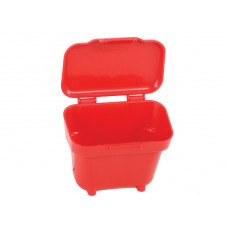 Коробочка на ремень /красная / Ammo Belt Pouch for 22LR to 9mm