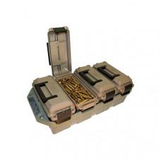 Органайзер из 4 герметичных блоков МТМ 4-Can Ammo Crate