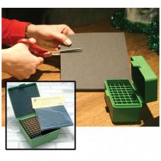 Вставка поролоновая для коробок 10 мм 15см*15см Ammo Box Foam Liners Stops Rattle Fits upto R-100