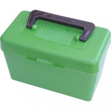 Кейс с ручкой MTM Deluxe на 50 патронов (223 204 Ruger 6x47) Deluxe Ammo Box 50 Round Handle 223 Rem 204 Ruger