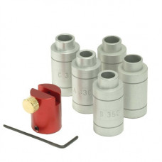 Набор для измерения опускания плечей компратор и 5 бушингов Hornady LOCK-N-LOAD® HEADSPACE KIT W/BODY (