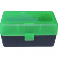 Коробка на 50 патронов (375 Rem) MTM Аmmo Box 50 Round Flip-Top 375 Rem UM 375 Wby Mag