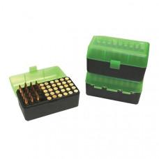 Коробка на 50 патронов (223 204 Ruger 6x47) MTM Ammo Box 50 Round Flip-Top 223 204 Ruger 6x47