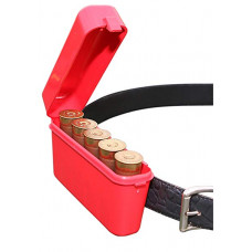"Коробка на пояс для 5 патронов 12К MTM Shotshell Box 5 Round Belt Style 12 Gauge up to 3"""
