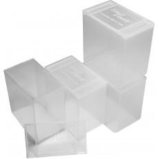 Блок 4 коробки по 25 патронов 12К MTM 25 Round Shotshell Box, sold as set of 4 (прозрачный)