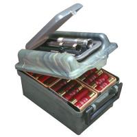 """Кейс для 100 гладкоствольных патронов и сменных дульных насадок в крышке МТМ Shotshell / Choke Tube Case 100 Round 12 16 20 Gauge up to 3"""""""