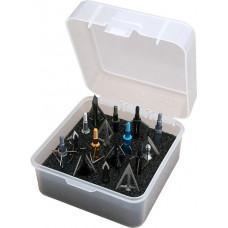 Коробочка для наконечников стрел MTM Broadhead Box - Holds 16 fixed or Mech.