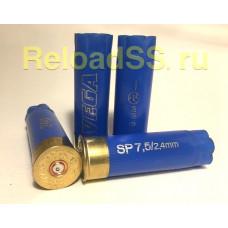 Гильзы однострел 12К Азот VEGA синие / упаковка 500 штук