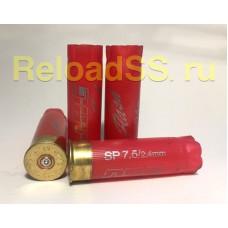 Гильзы однострел 12К Азот NRJ красные / упаковка 500 штук