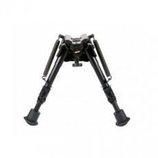"""Сошки """"Bipod harris"""" serie S, model BR 6-9"""" S-BR (подвижное основание, длина 15-23 см, регулировка плавная, выдвигается одно колено)"""