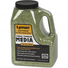Наполнитель для очистки гильз Lyman Corncob Plus, Small (кукуруза) 0,9кг