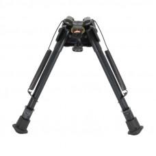"""Сошки """"Bipod harris"""" serie S, model LM 9-13"""", S-LM (подвижное основание, длина 23-33 см, регулировка ступенчатая, выдвигается одно колено)"""