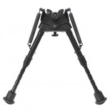 """Сошки """"Bipod harris"""" serie S, model BRM 6-9"""", S-BRM (подвижное основание, длина 15-23 см, регулировка ступенчатая, выдвигается одно колено)"""