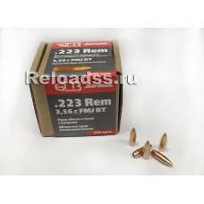 Пули .223Rem БПЗ FMJ 55 gr (3,56 гр) / 300 шт./