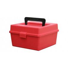 Коробка на 100 патронов с ручкой MTM (22-250 Rem. 308 30-06 7,62x39 )