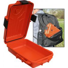 """Бокс водонепроницаемый малый (оранжевый) для хранения и переноски документов Survivor Dry Box - Small 10x7x3"""""""
