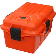 Бокс водонепроницаемый большой (оранжевый) для хранения и переноски документов MTM