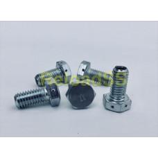 Болт-Жиклер № 4-2 ручья (сталь)